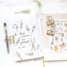 #bulletjournalideas hashtag on Instagram • Photos and Videos Sticker Paper, Stickers, Bullet Journal Quotes, Gift Tags, Stationery, Bujo, Patience, Notebooks, Journals