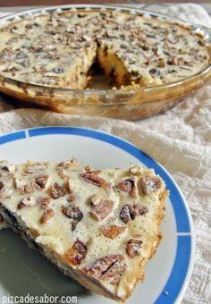 Cheesecake with walnut and date Wine Recipes, Mexican Food Recipes, Sweet Recipes, Baking Recipes, Comida Israeli, Bolos Light, Dessert Chef, Easy Desserts, Dessert Recipes