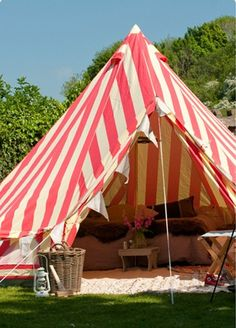 Outdoor Bell Tent by The Glam Camping Company