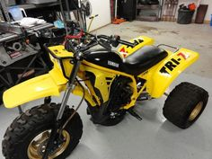 Yamaha Tri-Z 250.  I have a 1985 at home and still ride it, love that ATC.  Photo Courtesy of Vintage Factory ATC Racer