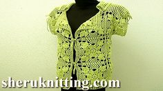 Crochet Square Motif Jacket Tutorial 11 Part 2 of 3 Motifs Joining  https://www.youtube.com/watch?v=OKFRTsBkyyI http://sheruknitting.com/ In this crochet video tutorials you can find crochet square motif jacket, crochet cardigan, joining square motifs together, motif joining, crochet motif layout for jacket, invisible joining, joining motifs in join-as-you-go technique, beautiful crochet cardigan for any occasion. In part 2 we show you how to join square motifs together.