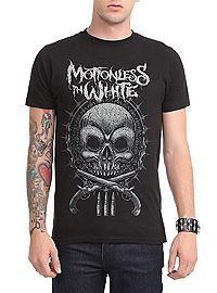 HOTTOPIC.COM - Motionless In White Skull Guns Slim-Fit T-Shirt