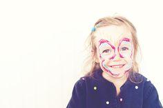 DIY naturally dyed face paint
