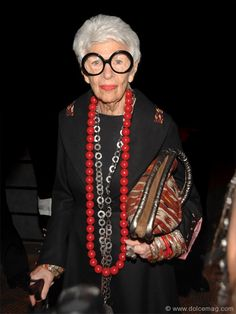 iris apfel | Iris Apfel attends the Couture Council of the Museum of FIT's Alber ...
