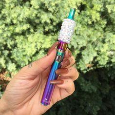 """Wild Rainbow"" Dry Herb Vape Pen from www.shopstaywild.com"