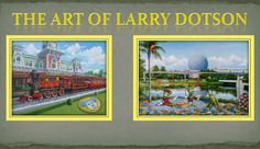 Signing events with Larry Dotson at Walt Disney World Resort