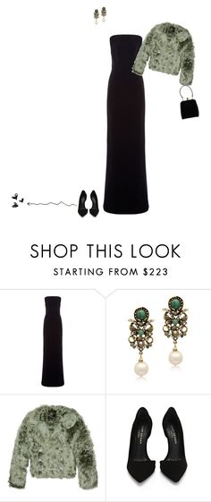 """""""elegant evening"""" by a-82 ❤ liked on Polyvore featuring Balenciaga, Alcozer & J, Gucci, Kurt Geiger and Dolce&Gabbana"""