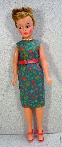 Vintage Ideal Tammy's Mom, Mint and All Original, 1963!