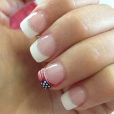 my 4th of july nails