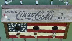 American Coke   Birdhouse made from a recycled coke crate wi…   Flickr
