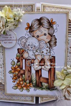 Skin: E21-51-50-93 Hair: E44-43-42-41 Mouse: W3-1-0, E00-000 Fence: E29-27-25-23-21 Grass: G99, YG 67-95-93-91 Flowers: YR 24-23-21-20, Y32