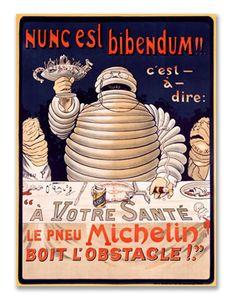 Vintage Michelin logo