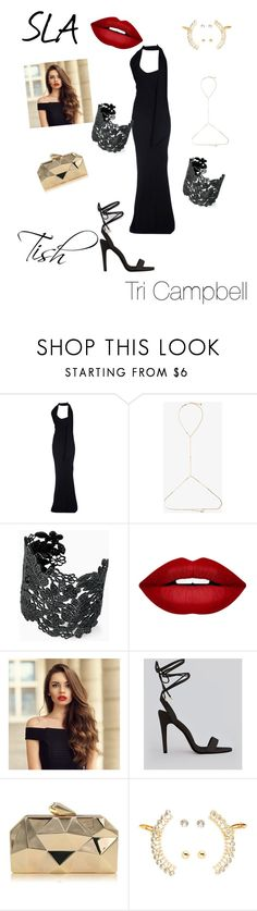 """Tish"" by tritheslaqueen on Polyvore featuring Gareth Pugh, Rosantica, Stella & Dot, Forever 21, New Look and Charlotte Russe"