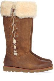 Bruine Ugg laarzen Marigny boots