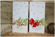 Otulone bielą kartki świąteczne