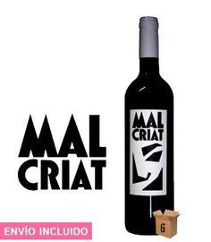 Vino Tinto Malcriat (6 und) https://www.delproductor.com/es/vino-y-cava/320-vino-tinto-malcriat-6-und.html