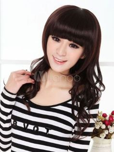 USJF10216 vogue charming Stylish long curly brown wig hair Wigs For Women   Unbranded  Wig 1fcd86765e