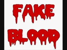 What would Halloween be without a few gallons of fake blood? There are lots of recipes floating around, but the biggest complaint is that the fake blood look. Halloween Science, Halloween Projects, Halloween Ideas, Blood Art, Fake Blood, Blue Food Coloring, To Infinity And Beyond, Different Recipes, Arts And Crafts