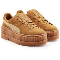 11c742e2486f FENTY Puma by Rihanna The Cleated Creeper Sneakers ( 175) ❤ liked on Polyvore  featuring
