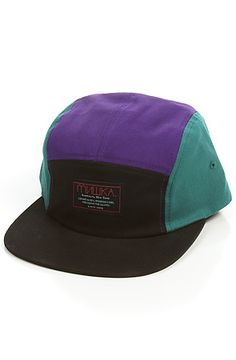 The Scout 5 Panel Hat in Black by Mishka