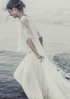 Vestido de noiva:  Laure de Sagazan