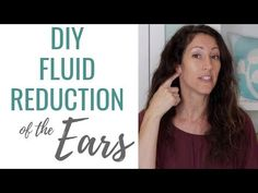 Get Fluid of our Your Ears Naturally with this 4 Step DIY at home remedy! Never deal with clogged, stuffy, plugged fluid filled ears. Learn how to get fluid . Drain Ear Fluid, Fluid In Ears, How To Drain Ears, Ear Drainage, Eustachian Tube Dysfunction, Blocked Ears, Ear Tubes, Ear Health, Dry Brushing Skin