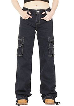 67e3adce22 Looking for Glamour Outfitters Glamour Outfitters Dark Wash Wide Leg Combat  Cargo Jeans - Indigo   Check out our picks for the Glamour Outfitters  Glamour ...