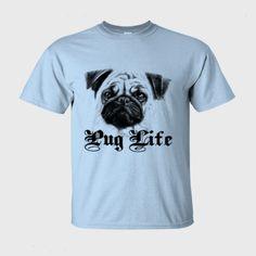 pug t shirt , funny dog - Mens Ultra-Cotton T-Shirt