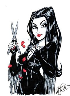 Morticia_Addams by Josh Howard