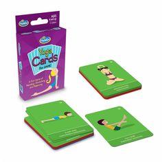 Yoga Cards Game, jógázós mozgásfejlesztő kártyajáték 6 éves kortól - ThinkFun