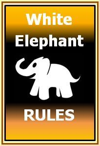 Rules for White elephant gift exchange games-AlbinoPhant |AlbinoPhant