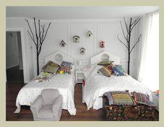 Un cabecero de cama original > Decoracion Infantil y Juvenil, Bebes y Niños
