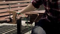 Public Resonance by sam weller. Public Resonance is a short movie that documents a product designed by Sam Weller in collaboration with Yamaha and The Royal College of Art. The device allows a musician or percussionist to literally resonate and connect with their audience by utilising the natural resonance in everyday street found objects.
