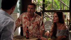 "Burn Notice 5x08 ""Hard Out"" - Fiona Glenanne (Gabrielle Anwar) & Sam Axe (Bruce Campbell)"