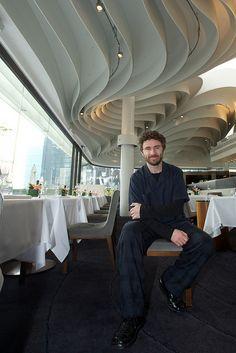 Thomas Heatherwick's at David Collins, HK David Collins, Thomas Heatherwick, Ceiling Ideas, Hong Kong, Hotels, Trousers, Retail, Surface, Restaurant