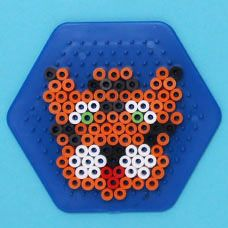 Lay designed Melty Beads on specially design pegboards and heat with an iron to create adorable Zoo Animals! Create a panda, elephant, jaguar, monkey, tiger or lion Melty Bead animal!