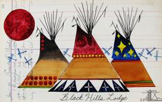 Native American Beaded Bracelets | Original Native American Watercolor Paintings