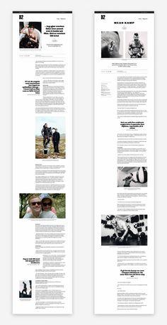 News Website Design, News Web Design, Website Design Layout, Layout Design, Magazine Design Inspiration, Website Design Inspiration, Web Grid, Ui Web, Article Design