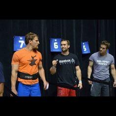 Caption this! Nat Schrader, Ben Smith and Jordan Troyan at the Mid Atlantic Regionals! @bsmith13 #thewodlife #crossfit #crossfitgames #bensmith #midatlantic #bones #theviking