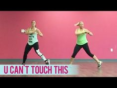 MC Hammer - U Cant Touch This (Dance Fitness with Jessica) - YouTube