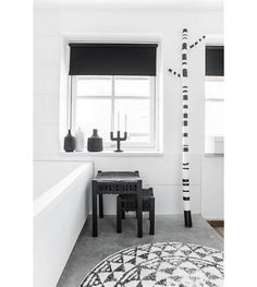 HK Living Bathmat / Carpet, Around M Ø80cm   Lefliving.de