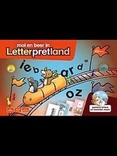 MOL EN BEER IN LETTERPRETLAND : SPELEND LETTERS EN WOORDEN LEZEN; Je gaat met je vrienden op stap door het pretpark van mol en beer. Je leest letters en verzamelt ze om woorden mee te bouwen. Je leest nieuwe woorden met letters die je kent. Je probeert zoveel mogelijk gouden punten te verzamelen.