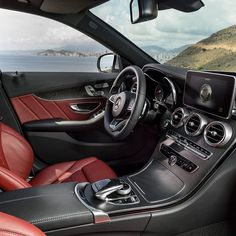 From the driver oriented dash to the haptic feedback touchpad with smartphone-like controls, virtually everything about the 2015 C-Class is brand new. #cclass #mercedes #benz #instacar