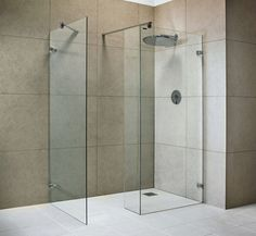 Wet Room Design Ideas If you are thinking about ways to spruce up your interior then you should look into wet rooms. What is a wet room you ask? Simple: its a new approach to bathroom design in which there is no tub shower screen or tray. Wet Room Bathroom, Wet Room Shower, Downstairs Bathroom, Shower Floor, Bathroom Canvas, Wet Floor, Master Bathrooms, Glass Shower, Bathroom Ideas