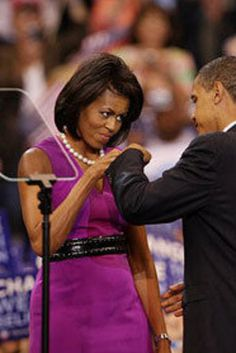 Michelle Obama's Belted Style