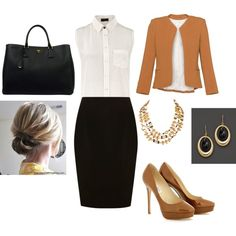 Working Woman, created by robincarver on Polyvore