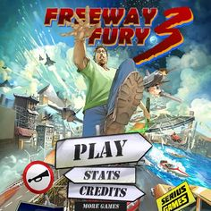 A fun driving game uses flash to run smoothly in most browsers. Drive, jump, steal vehicles and cause mayhem on the freeway. Freeway Fury 3 includes an all new story, new vehicles, levels, bonuses and more! 😎🤣😎 Tags: #Racing #Friv2017 #Car