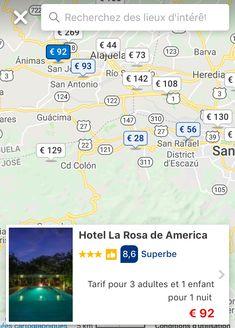 San Antonio, Costa Rica, Rio, Places, Travel