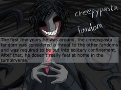 fandomstuck headcanons #4 - Creepypasta Fandom