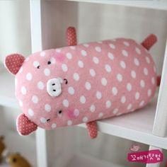 cute sewing idea: pig